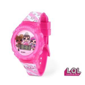 LOL Surprise Pink Light Up Digital Watch